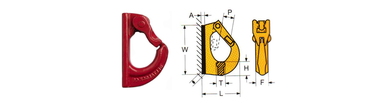 Welded Excavator Hook (8th Class of Quality)